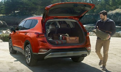 Does The 2020 Hyundai Santa Fe Have A Lot Of Cargo Space Carter County Hyundai